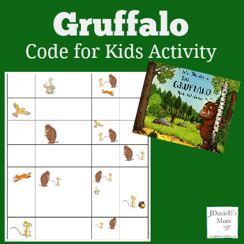 Code Activity for Kids- Gruffalo Coding Sheet