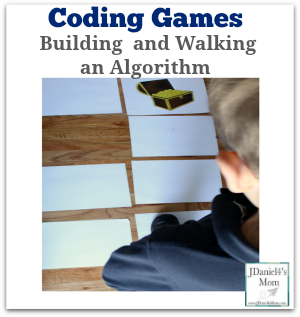Coding Games -Building  and Walking an Algorithm