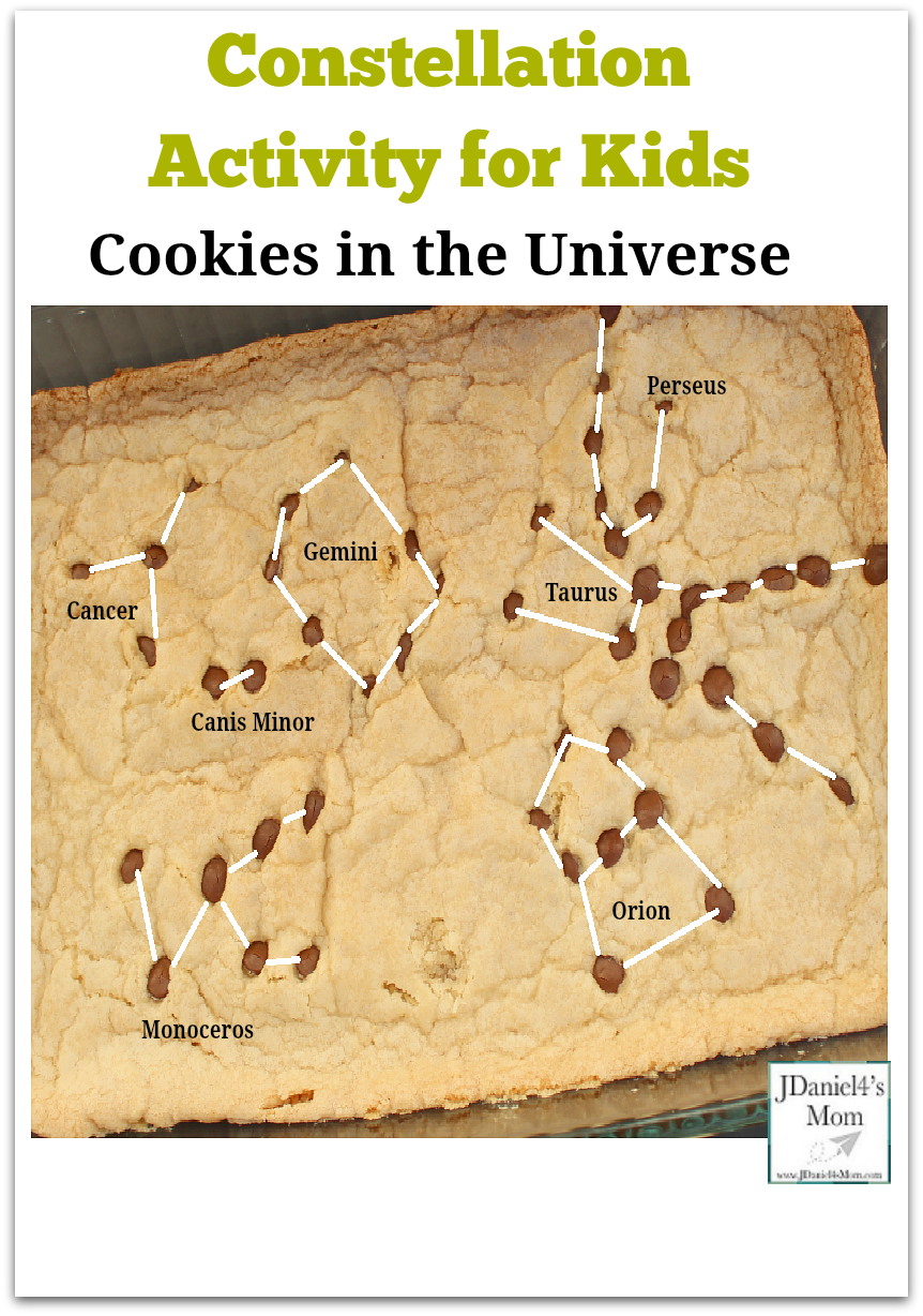 Constellation Activity for Kids- Cookies in the Universe Pinterest
