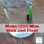 Cool Science - Make LEGO Man Sink and Float