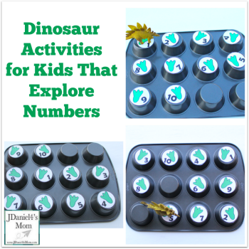 Dinosaur Activities for Kids That Explore Numbers
