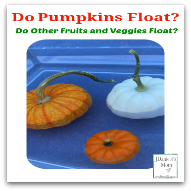 Do Pumpkins Float? Do Other Fruits and Veggies Float?