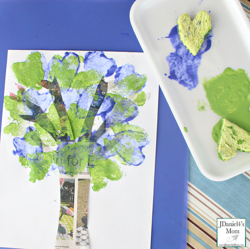 Earth Day Art Project- Supplies