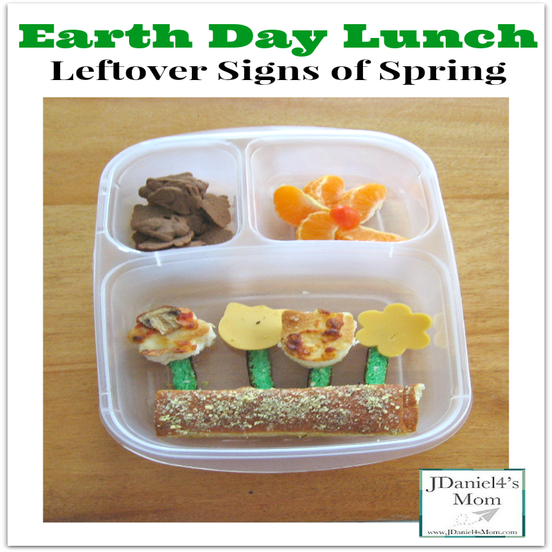 Earth Day Lunch - Leftover Signs of Spring