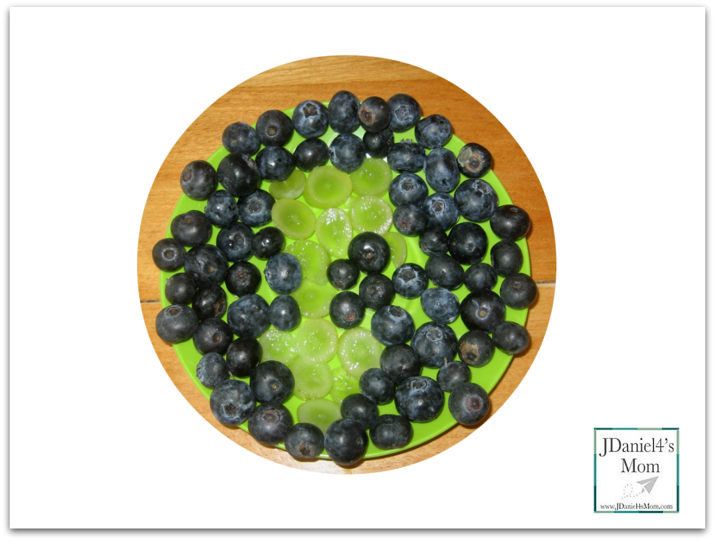Earth Day Meal For Muffin Tin Monday- Earth in Fruit standard