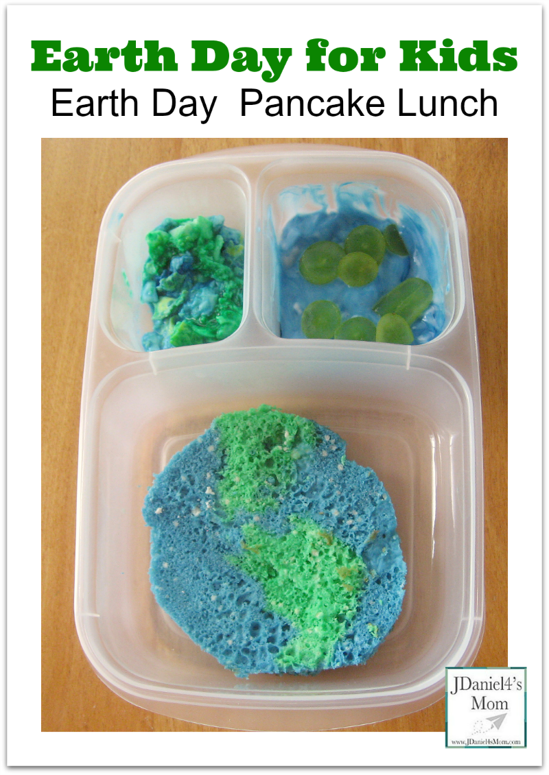 Earth Day for Kids - Earth Day Pancake Lunch
