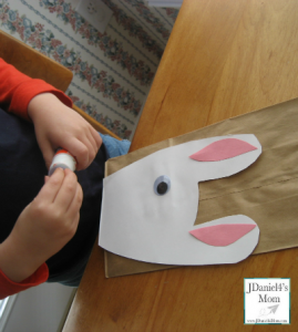 Easter Craft-Bunny Themed Treat Bag