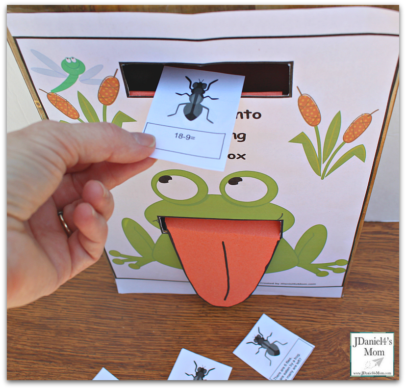 Editable Math Cards and Flip Chute Printables- Adding the Math Card
