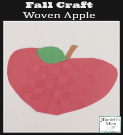 Fall Craft- Woven Apple