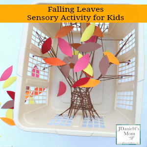 Falling Leaves Sensory Activity for Kids