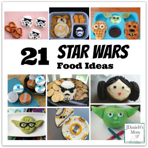 Star Wars Food Creations for Kids