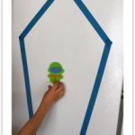 Fine Motor Skills Magnetic Astronaut and the Tape Rocket