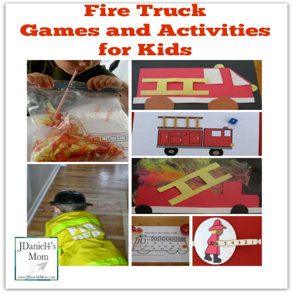 fire truck games and activities for kids jdaniel4s mom. Black Bedroom Furniture Sets. Home Design Ideas