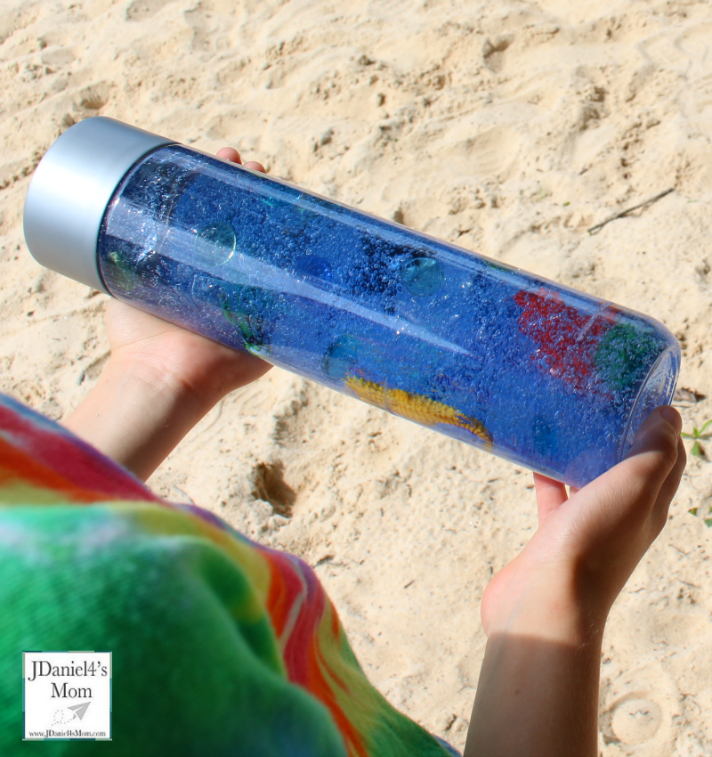 Five Ways to Explore Sensory Bottles - Counting Objects