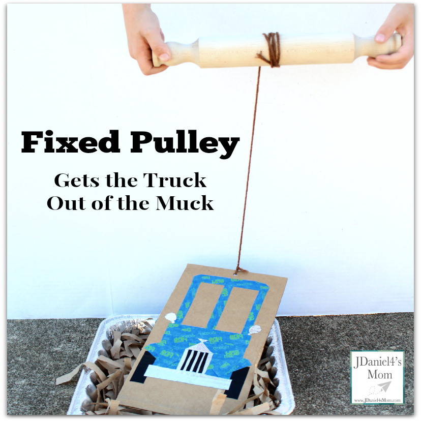 Fixed Pulley Gets the Truck Out of the Muck