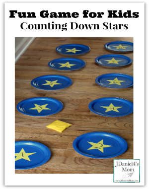 Fun Game for Kids - Counting Down Stars