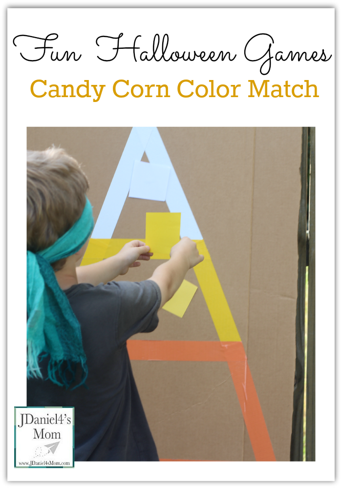 Fun Halloween Games- Candy Corn Color Match