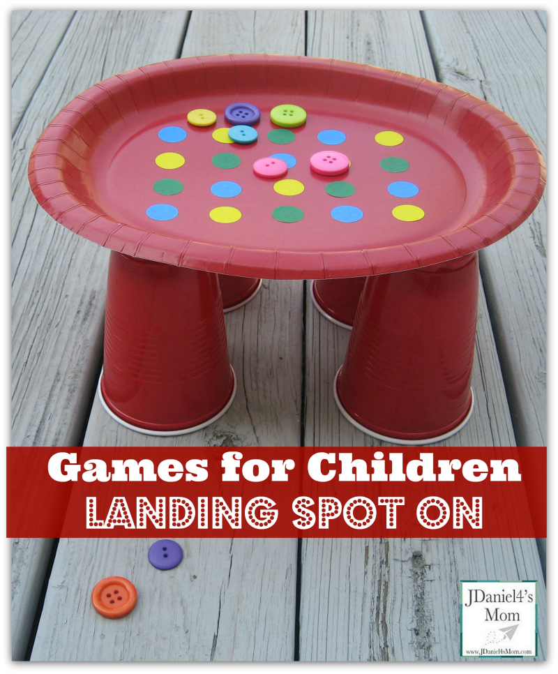 Games for Children-  Landing Spot On