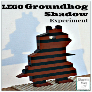 LEGO Groundhog Shadow Experiment