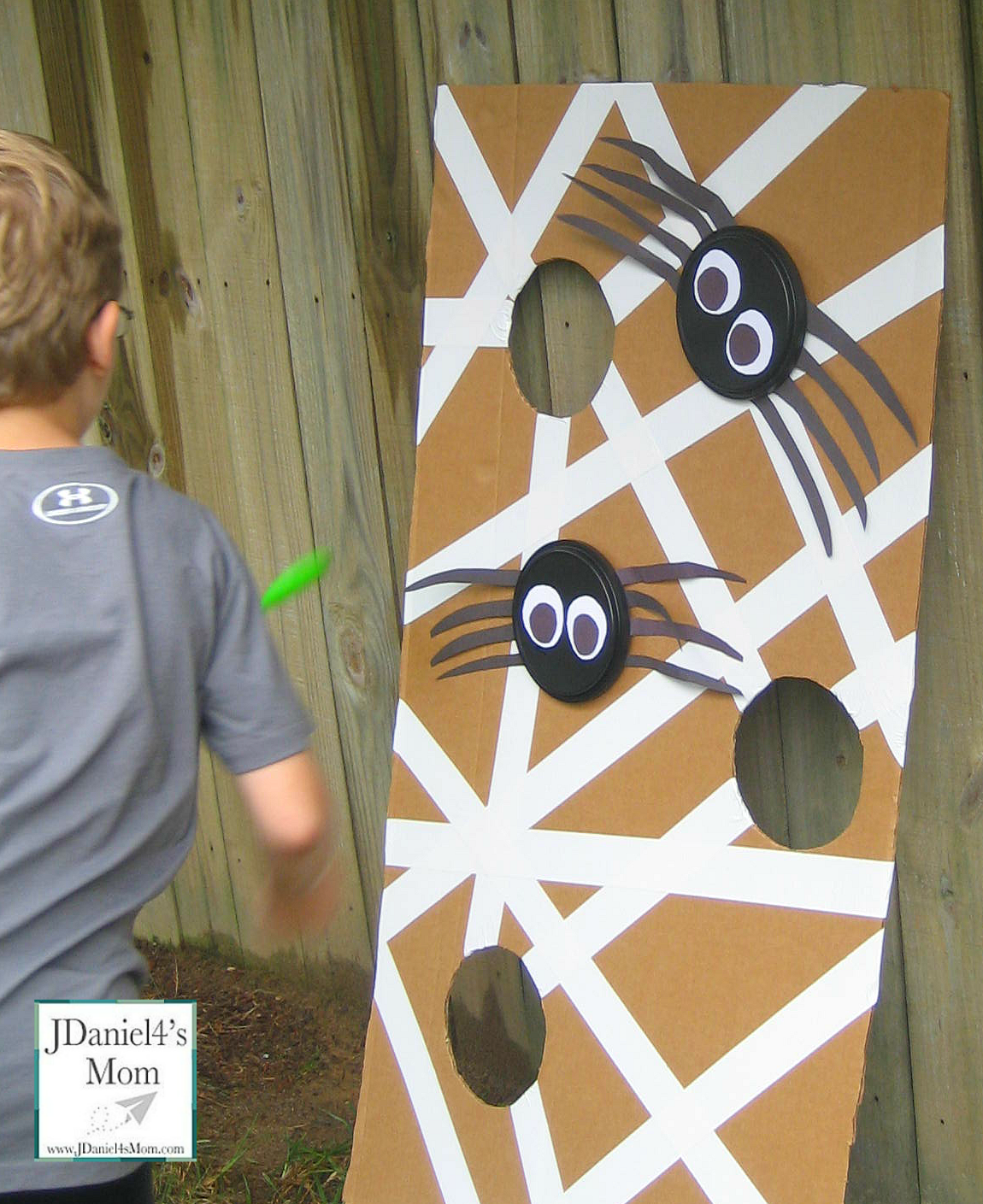Halloween Games- Spider Web