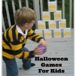 Halloween Games for Kids- Boxes and Pumpkins