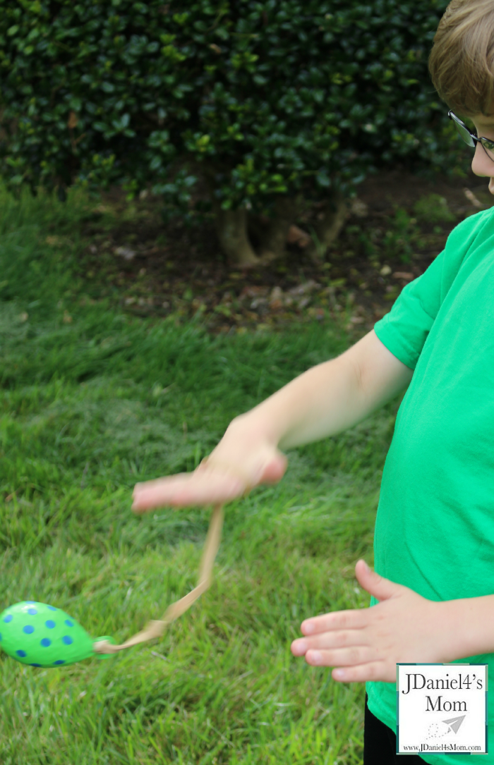 Here Are Simple Experiments for Kids with Fun Balloon Yo-Yos