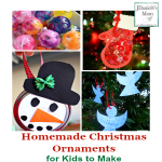 Homemade Christmas Ornaments for Kids to Make
