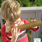 Homemade Instruments for Kids- Flute (Played Outside)