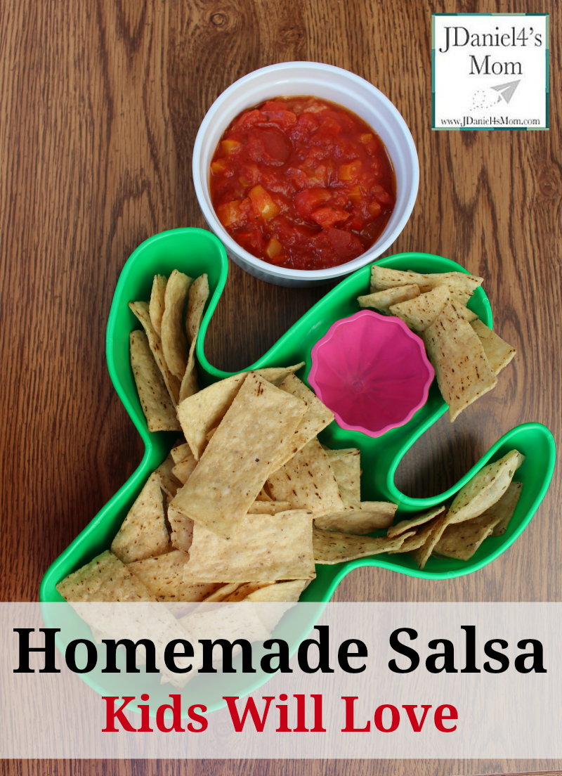 Homemade Salsa Kids Will Love to Make and Eat