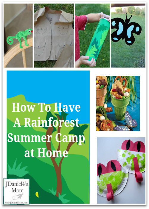 How to Have a Rainforest Summer Camp at Home