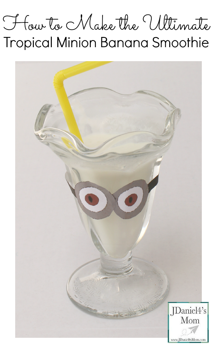 How to Make the Ultimate Tropical Minion Banana Smoothie