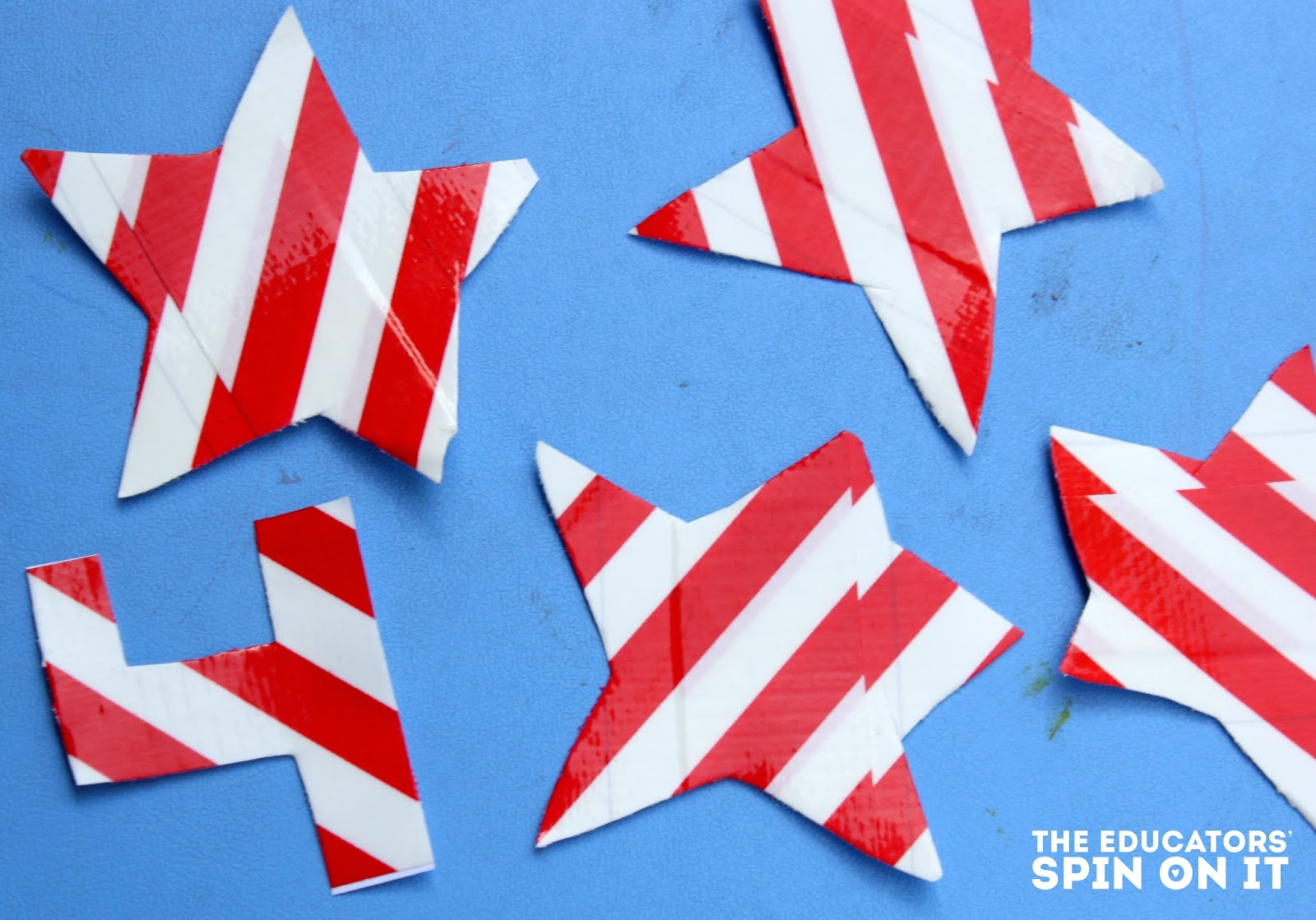 Washi, Painter's and Duct Tape Craft and Activities- Counting Stars
