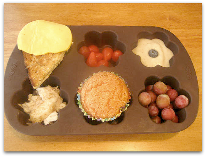 Ice Cream Themed Muffin Tin Lunch