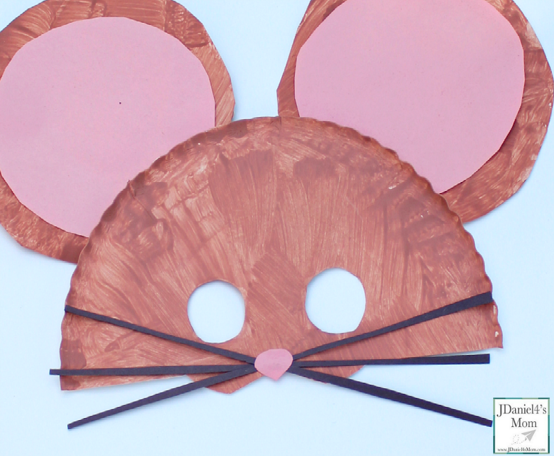 Image result for paper plate mouse mask