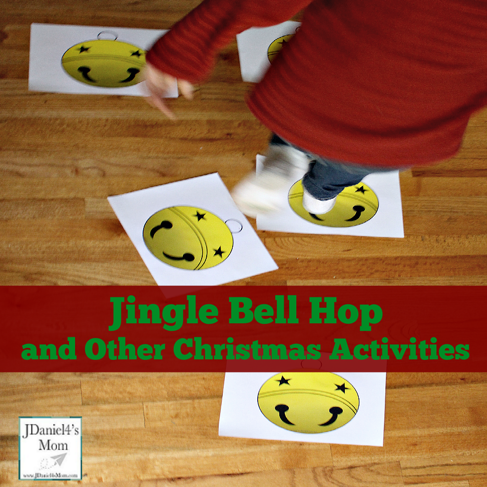 Christmas Activities - Jingle Bell Hop Printable Cards and other Activities