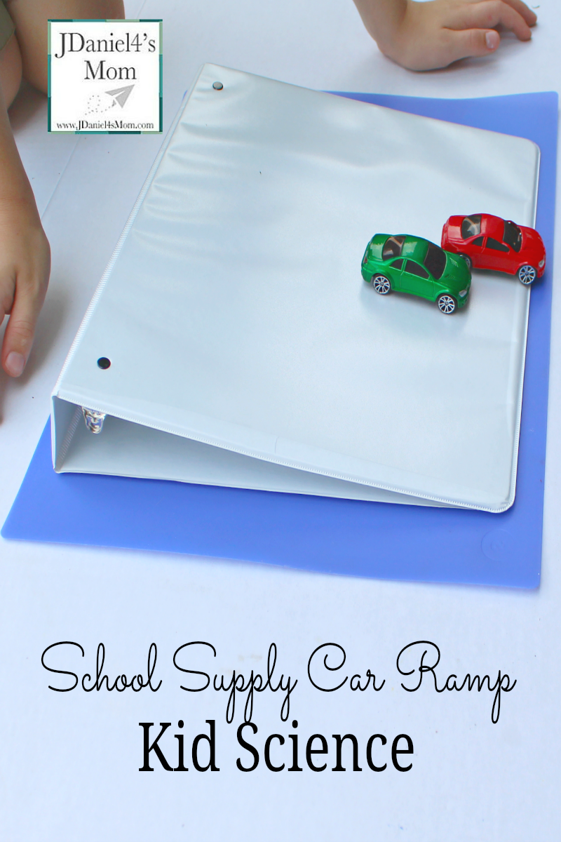 Kid Science School Supply Car Ramp