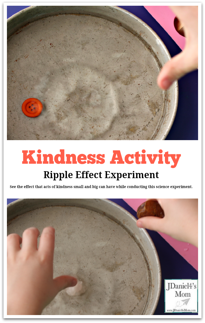Kindness Activity Ripple Effect Experiment Pinterest Picture