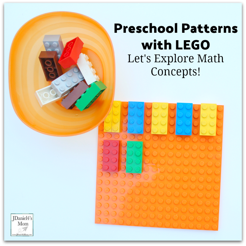 Let's Explore Math Concepts! Preschool Patterns with LEGO
