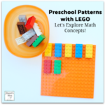 Let's Explore Math Concepts! Preschool Patterns with LEGO - Exploring the AB pattern