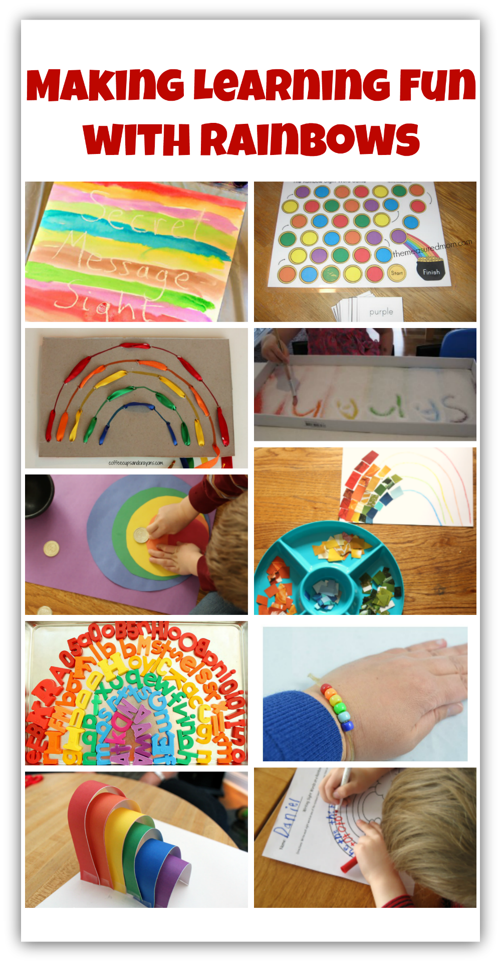 Making Learning Fun with Rainbows (title)