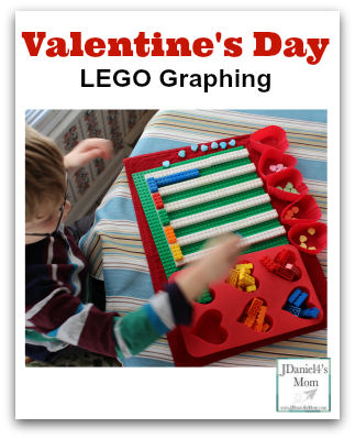 Math is Fun-Valentine's Day LEGO Graphing