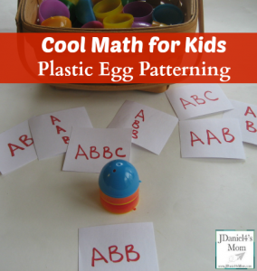 Cool Math for Kids Plastic Egg Patterning