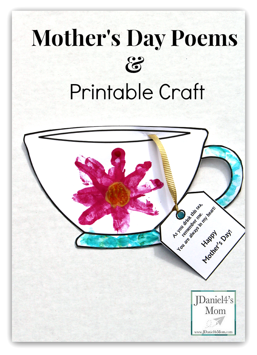 This is a picture of Satisfactory Free Printable Mothers Day Crafts