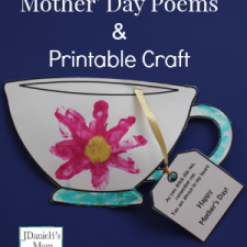 Mother's Day Poems and Printable Craft