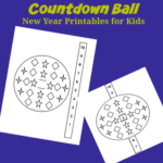 Countdown Ball New Year Printables for Kids