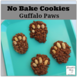 No Bake Cooke Guffalo Paws - Kids will love helping you bake these cookies based on a favorite book.