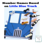Number Games Based on Little Blue Truck