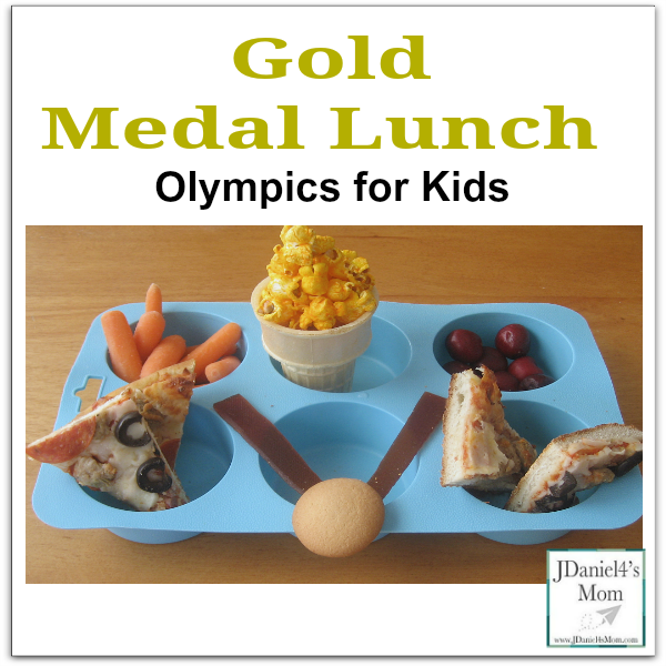 Olympics for Kids- A Gold Medal Lunch