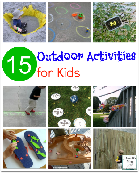 Outdoor Activities and Learning Games for Kids