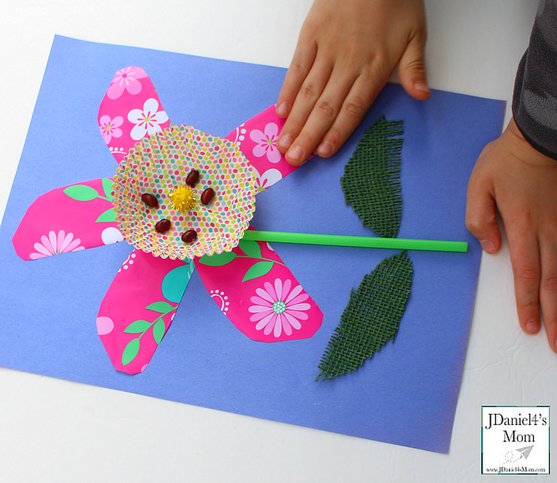 Parts of a Plant Craft for Kids Complete Flower